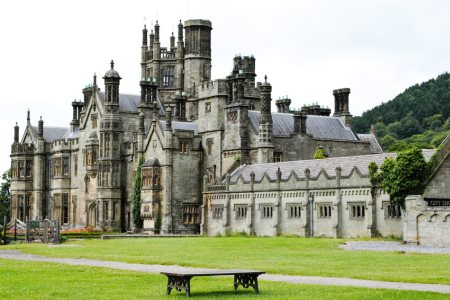 UK Wales Neath Port Talbot Margam Castle