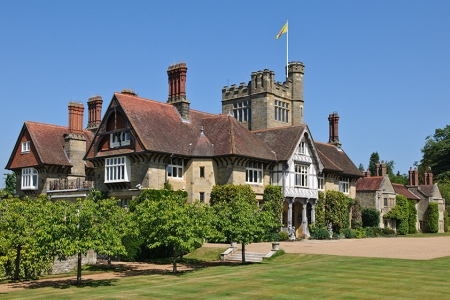 UK West Sussex Midhurst Cowdray House