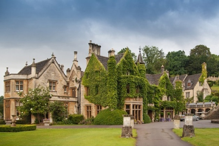 UK Wiltshire Castle Combe Manor