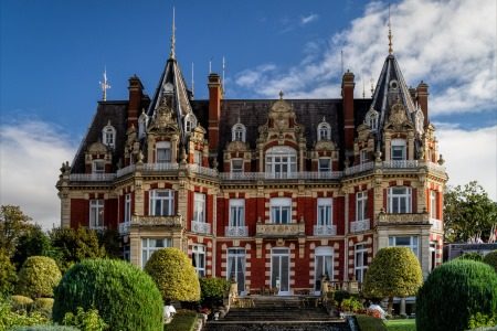 UK Worcestershire Droitwich Spa Chateau Impney
