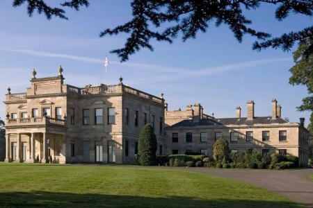 UK Yorkshire Doncaster Brodsworth Hall