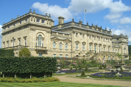UK Yorkshire Harewood Harewood House