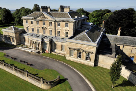 UK Yorkshire Hickleton Hickleton Hall