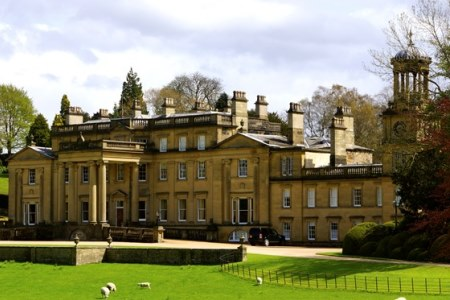 UK Yorkshire Skipton Broughton Hall