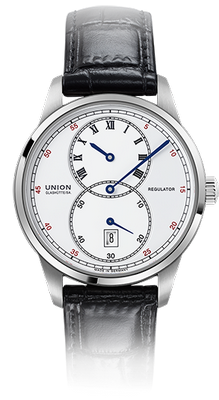 Union Glashuette 1893 41mm D007.445.16.013.00