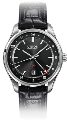 Union Glashuette Belisar GMT 41mm D009.429.16.057.00