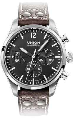 Union Glashuette Belisar Pilot Chronograph 44mm D009.627.16.057.00