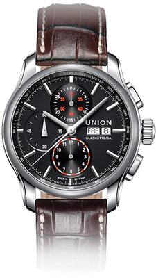 Union Glashuette Viro 43mm D001.414.16.051.00