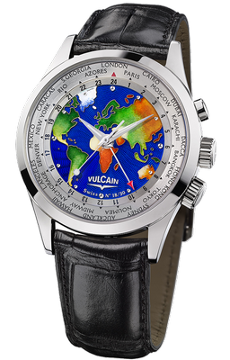 Vulcain Cloisonne World 42mm 100308.128L