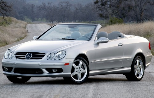 2003 Mercedes-Benz CLK Convertible