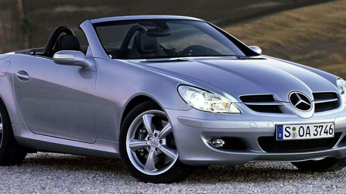 2004 Header Mercedes-Benz SLK