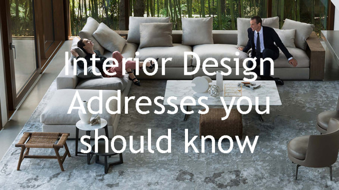 Interior Design Addresses You Should Know Worthnotworth