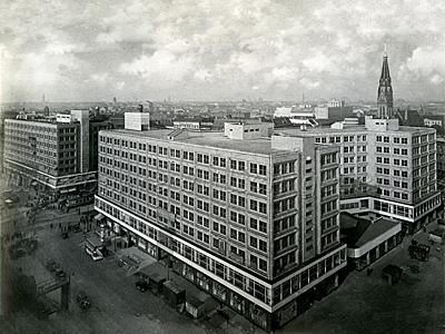 1932_Alexander- and Berolinahouse Berlin Germany Peter Behrens