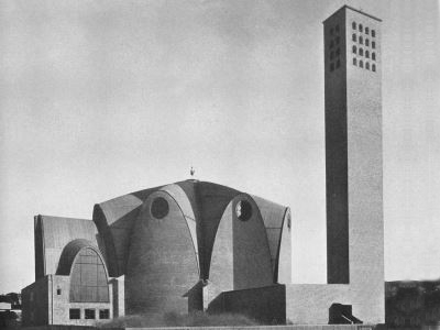 1932_St Engelbert Church Cologne Germany Dominikus Boehm