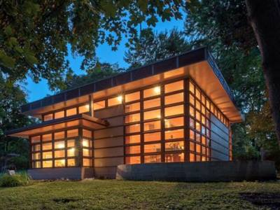 1957_Marshall Erdman Prefab Houses Madison WI USA Frank Lloyd Wright
