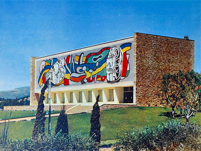 1960_Musee Fernand Leger Biot France Andrei Svetchine
