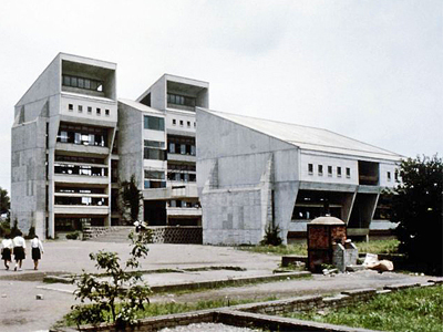 1964_Girls High School Oita Japan Arata Isozaki1