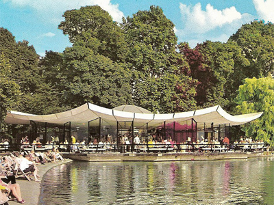 1965_Dell Restaurant Hyde Park London Patrick Gwynne
