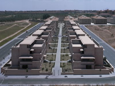 1989_Social Housing Carabanchel Madrid Spain Antonio Cruz and Antonio Ortiz