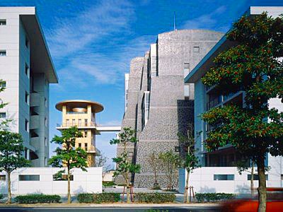 1991_Nexus II Housing Fukuoka Japan Christian de Portzamparc