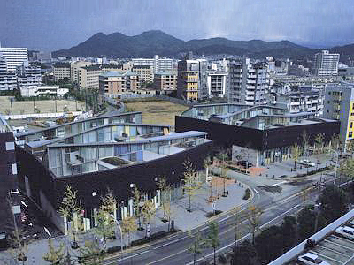 1991_Nexus World Housing Fukuoka Japan OMA Rem Koolhaas