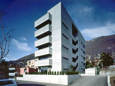 1992_Apartment Building Minusio Switzerland Michele Arnaboldi