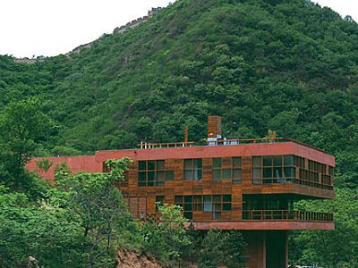 2002_Cantilever House Shuiguan Great Wall Yanqing County China P.R