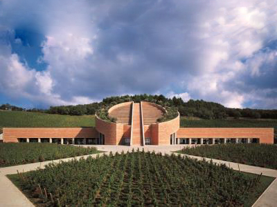 2003 Petra Winery Suvereto Italy Mario Botta