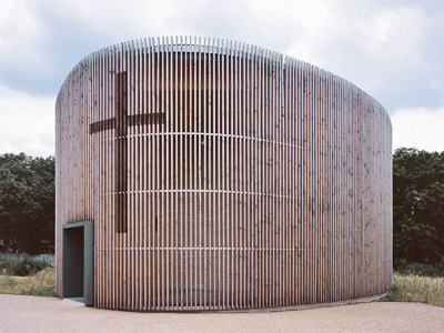 2003_Chapel of Reconciliation Berlin Germany Reitermann and Sassenroth Martin Rauch