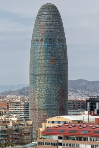 2005 Torre Agbar Barcelona Spain Jean Nouvel