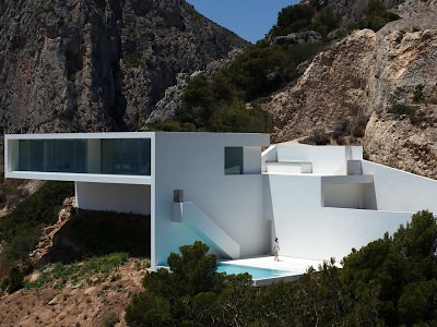 2012_House on the Cliff Alacant Spain Fran Silvestre