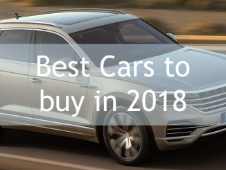 Best Cars to buy in 2018