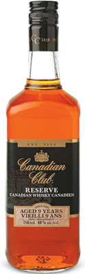 Canada Canadian Club Reserve 9-year-old