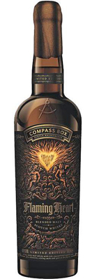 UK Blended Compass Box Flaming Heart