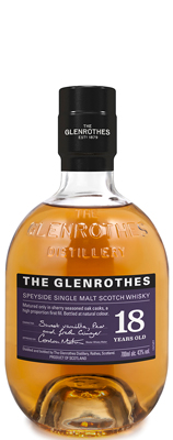 UK Single Malt Glenrothes 18 Year Old Soleo Collection