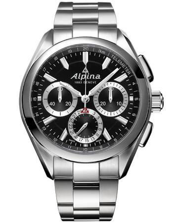 Alpina Alpiner 4 Manufacture Flyback Chronograph 44.0mm AL-760BS5AQ6B Automatic EUR 3.995.00