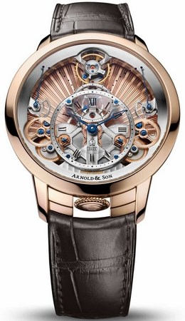 Arnold and Son Time Pyramid 44.6mm 1TPAR.F01A.C125A Manual Winding EUR 47.000.00