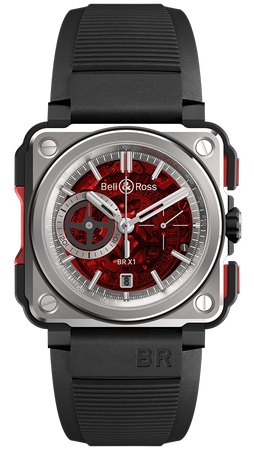 Bell and Ross BR-X1 45.0mm BRX1-CE-TI-REDII Automatic EUR 17.500.00