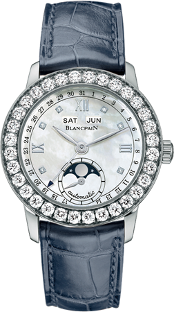 Blancpain Woman Quantieme Complet 33.7mm 2360 1991A 55A Automatic CHF 25.500.00