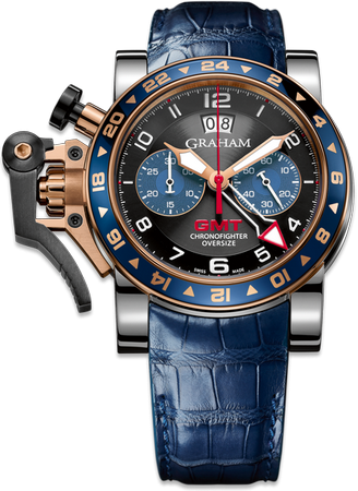 Graham Chronofighter GMT 47.0mm 2OVGG.B26A Automatic GBP 12.700.00