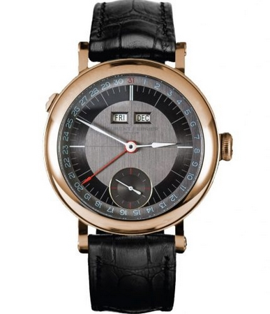 Laurent Ferrier Galet Annual Calendar Montre Ecole 40.0mm LCF025 Red Gold Manual Winding USD 63.000.00