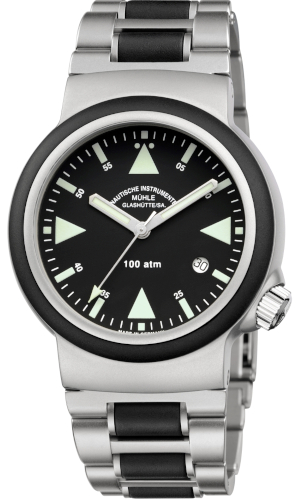 EUR 1.950,00 Muehle Glashuette SAR Rescue Timer 42.0mm M1-41-03-MB Automatic New
