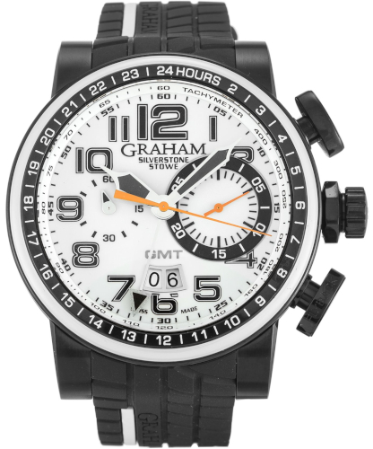 EUR 3.000,00 Graham Silverstone Stowe GMT White and Black 2BLCD.W04A
