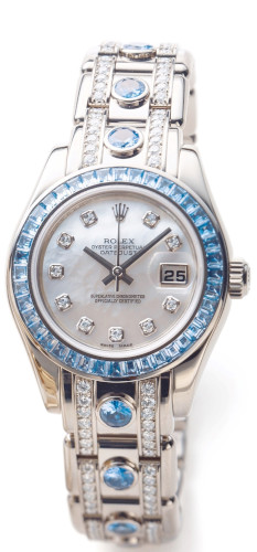 EUR 43.000,00 Rolex Oyster Perpetual Lady-Datejust Pearlmaster 80309