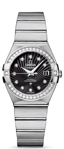 EUR 7.900,00 Omega Constellation Co-Axial 27mm 123.15.27.20.51.001